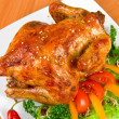 Roasted chicken — Stock Photo #4400938