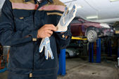 Auto mechanics — Stockfoto