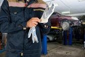 Auto mekanik — Stockfoto