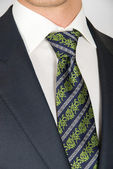 Closeup businessman suit — Stock Photo