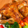 Roasted chicken — Stock Photo