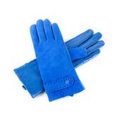 γυναικεία δερμάτινα γάντια — Φωτογραφία Αρχείου