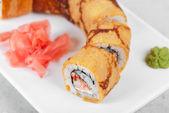 Omelette sushi — Stock Photo
