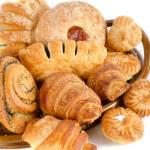 Bäckerei-Lebensmittel-Satz — Stockfoto