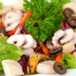 Seafood salad — Stock Photo #5060811