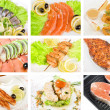 Fish set — Stock Photo #5060898