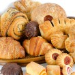 Bakery foodstuffs set — Stock Photo #5330508