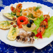 Seafood set — Stock Photo #5330547