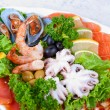 Seafood salad — Stock Photo #5330643
