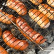 Grilled sausages — Stock Photo #5330682