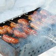 Grilled sausages — Stock Photo #5330685