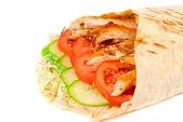 Doner kebab — Stock Photo