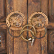 Ancient Chinese Door Handle — Stock Photo #4382175