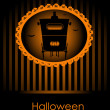 Halloween invitation — Stockvectorbeeld