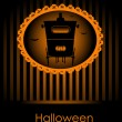 Halloween invitation — Vettoriali Stock