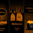 Halloween banners — Stock Vector #3932660