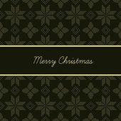 Vánoční pletené pozadí — Stock vektor