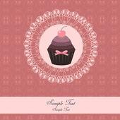 ケーキのデザイン — ストックベクタ