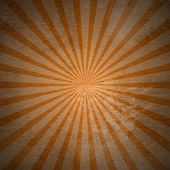 Vintage background with colored rays — Stock Photo