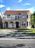 House with bricks — Stock Photo