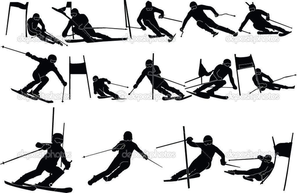 how to cut on a slalom ski