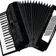Accordion illustration - Stock Vector