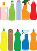 Packaging bottle collection — Stock Vector