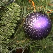 Balls on the Christmas tree — Stock Photo #4482118