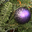 Stock Photo: Balls on the Christmas tree