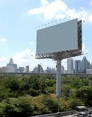 Billboard on the street in Bangkok — Stock Photo