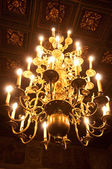A large chandelier — Stockfoto