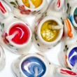 Colorful candels — Stock Photo