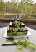 свадебный торт — Стоковое фото