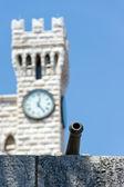Montecarlo Prince's Palace, Monaco — Stock Photo