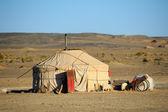 Mongolia yurt — Stock Photo