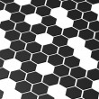 Hexagonal pattern — Stock Photo