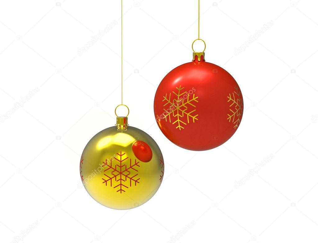 Bolas de navidad foto de stock boris15 4355442 for Imagenes de bolas de navidad