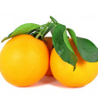 Two ripe oranges — Stock Photo #4665443
