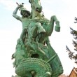 Stock Photo: St George Killing Dragon