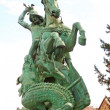 St George Killing the Dragon — 图库照片
