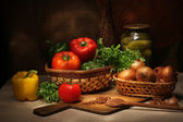 Vegetables still life — Stockfoto