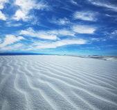 Deserto branco — Foto Stock
