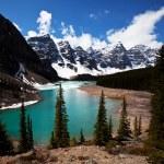 Canadian lake — Stock Photo