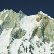 Meru peak in Himalayan - Stock Photo
