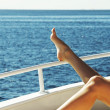 Royalty-Free Stock Photo: Relaxing on the yacht