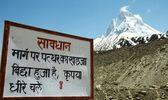 Shivling peak — Stock Photo