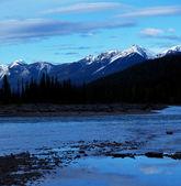 加拿大山脉 — 图库照片