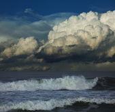 Tempestade no mar — Fotografia Stock