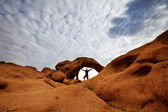 Arch in Mongolia — Stock Photo