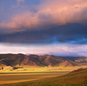 Prairie in Mongolia — Stock Photo